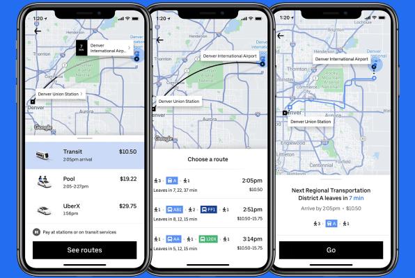 La nueva función de Uber que llegó a Chile — Uber Transit