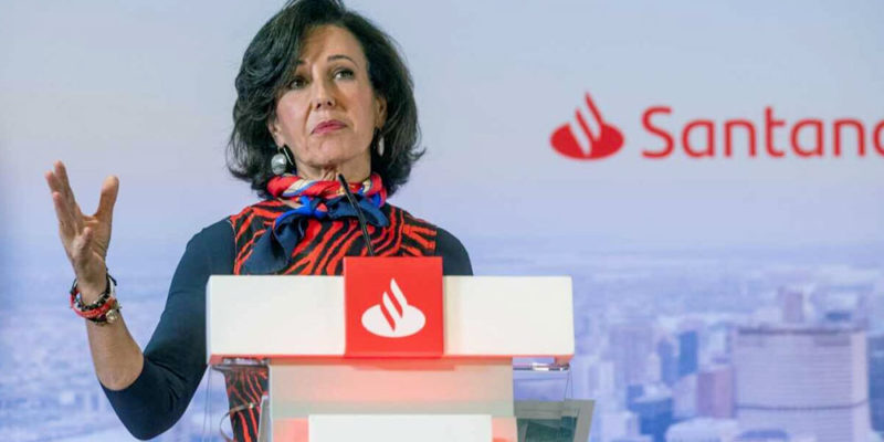 Banco Santander prevé un 5% menos de beneficio este año por el coronavirus